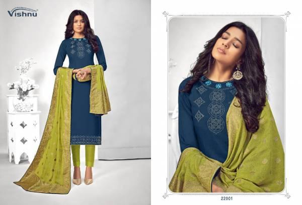 Vishnu Impex Najni Vol 2 Modal Silk With Swarovski Hand Work Churidar Suits Collection