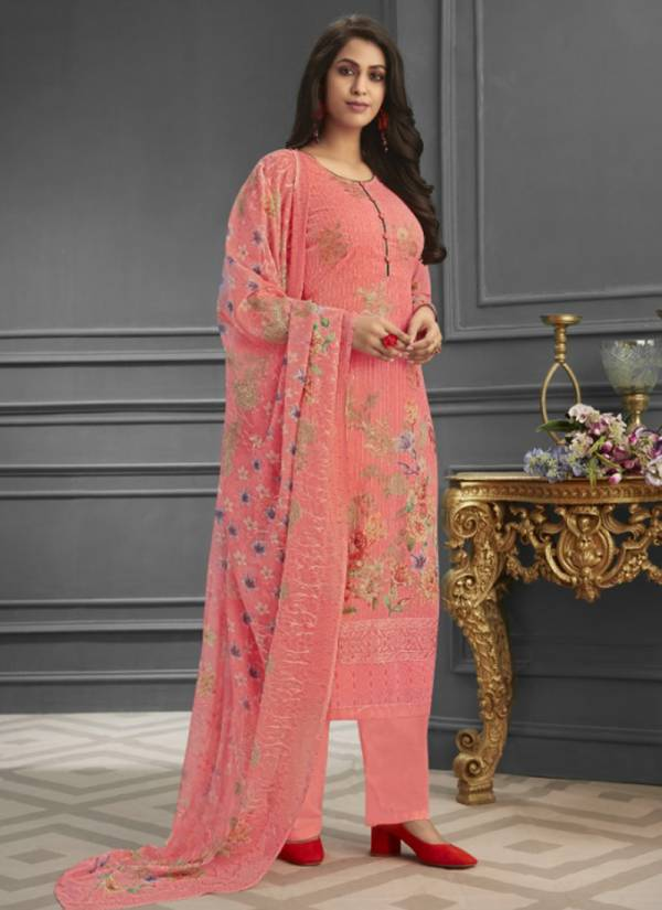 Shree Shalika Fashion Vol 62 Series 2501-2508 Pure Georgette Sequins Work Digital Print Latest Designer Festival Wear Salwar Suits Collection