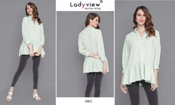Ladyview Tunic Vol 1 New Fancy Weaving Georgette Tops Collection