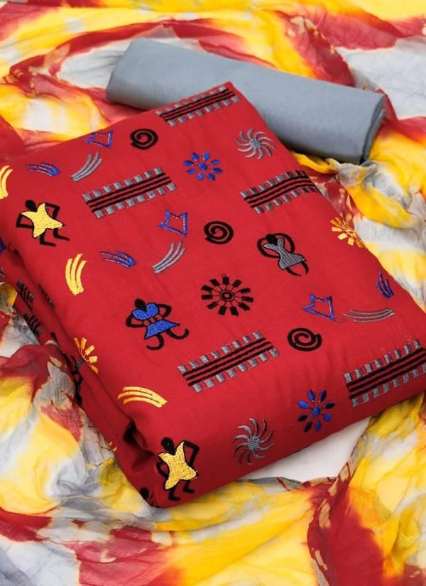 Designer Suit Slub Cotton Festival Wear  Designer Non Catalog Salwar Suits Collection