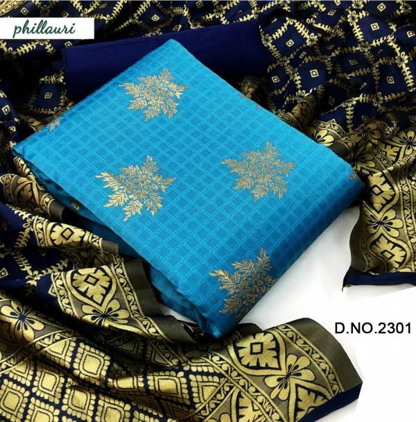 Kesari Exports Phillauri Vol 23 Banarasi Silk Fancy Printed Work Non Catalogues Suits Collection