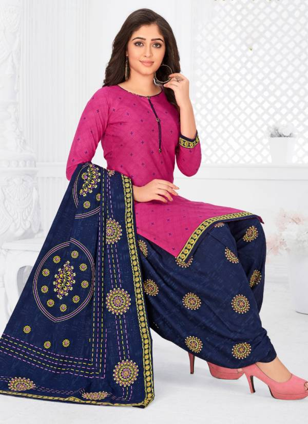 Rajasthan Industries Patiyala Pari Vol 9 Cotton Print Casual Wear New Designer Stitched Patiyala Suit Collcetion