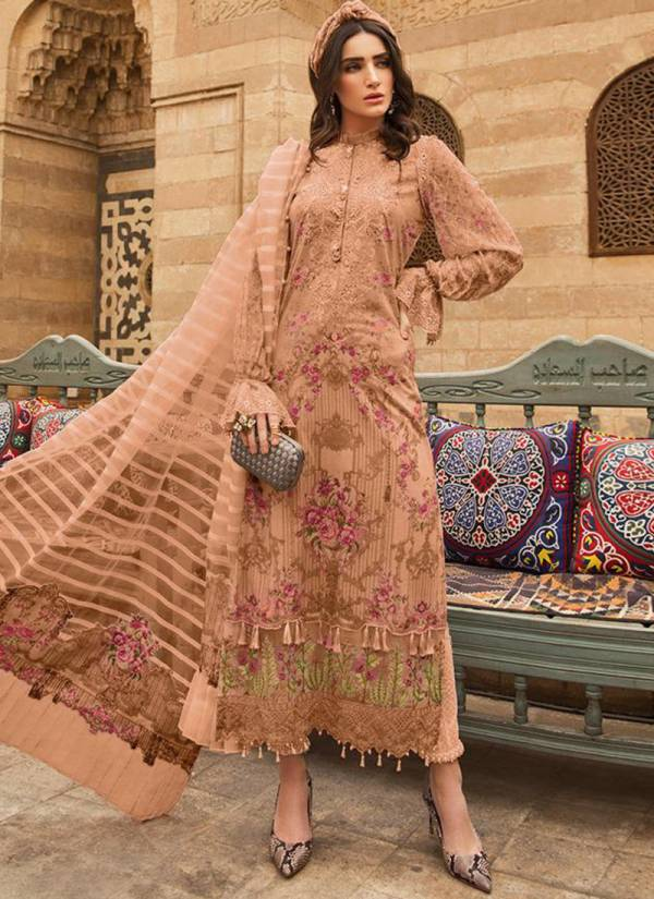 Deepsy Maria B Series 801-806 Exclusive Pashmina With Embroidery Work Patches Winter Season Pakistani Suits Collection