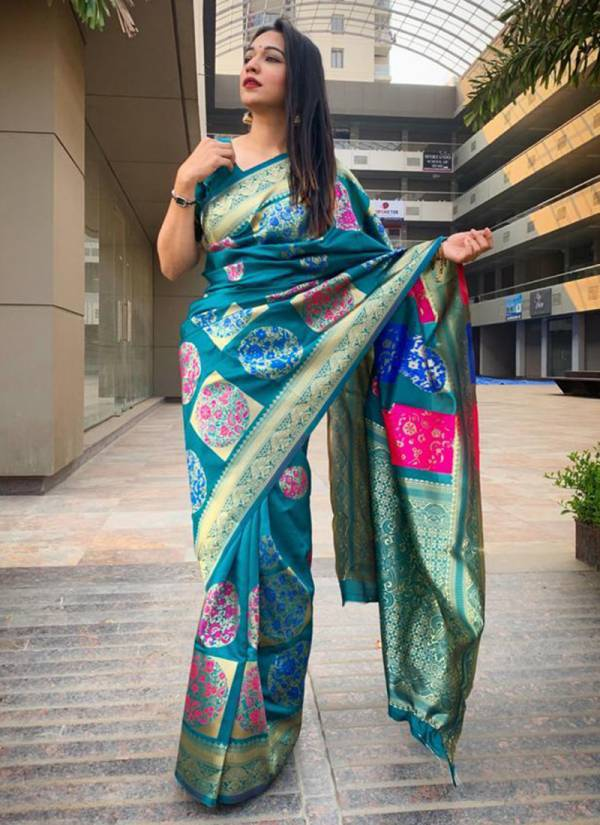 Redolence Rangoli Heavy Soft Silk Fancy Digital Printed Work Traditional Look Designer Sarees Collection