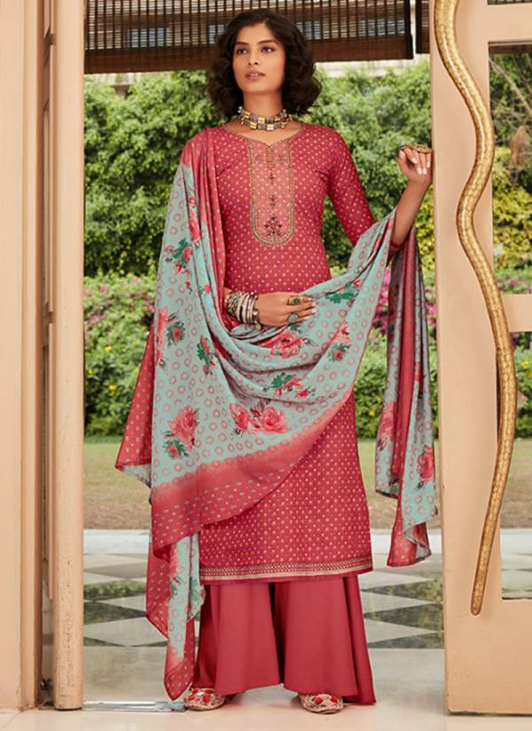 Azara Afrozeh Cambric Cotton Fancy Printed Palazzo Suit Collection