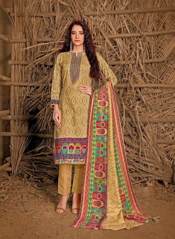 Shiv Gori Jubaida Vol 4 Woolen Pashmina With Heavy Kashmiri Work Salwar Suit Collection