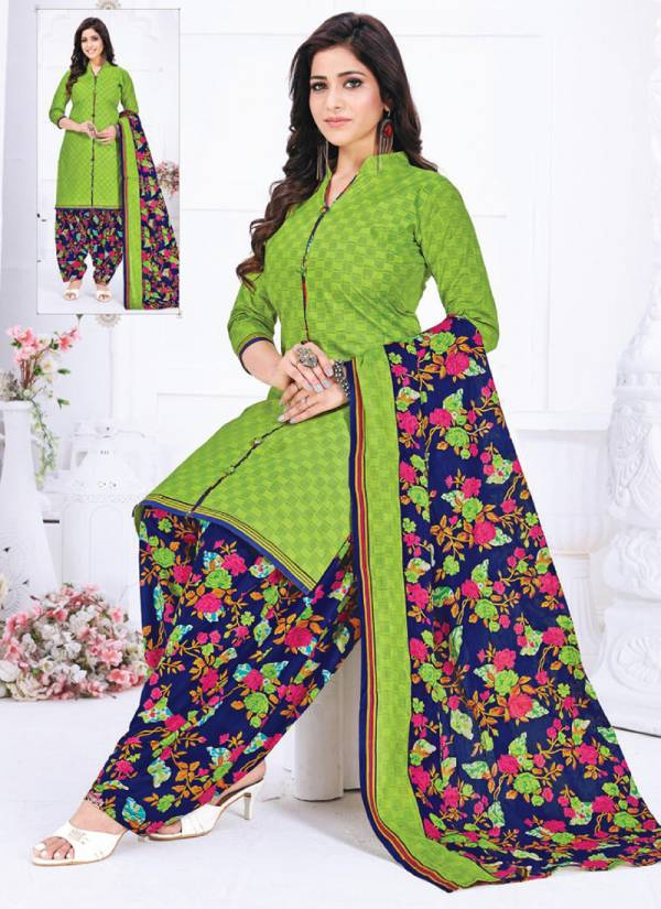 Laddo Prints Priti Vol 4 Pure Cotton Stylish Look Office Wear Readymade Patiyal Suits Collection