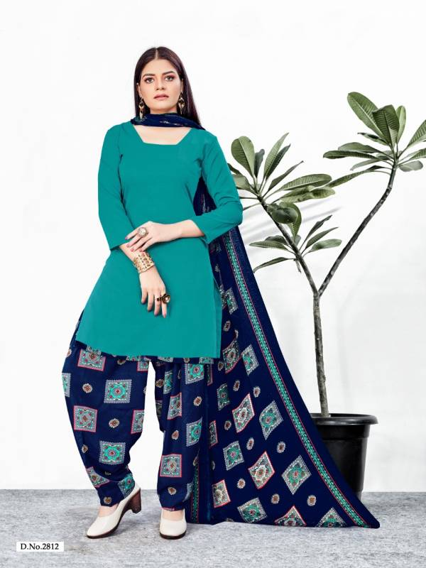 Poornima Textile Crystal Fancy Casual Wear Patiyala Suits Collection