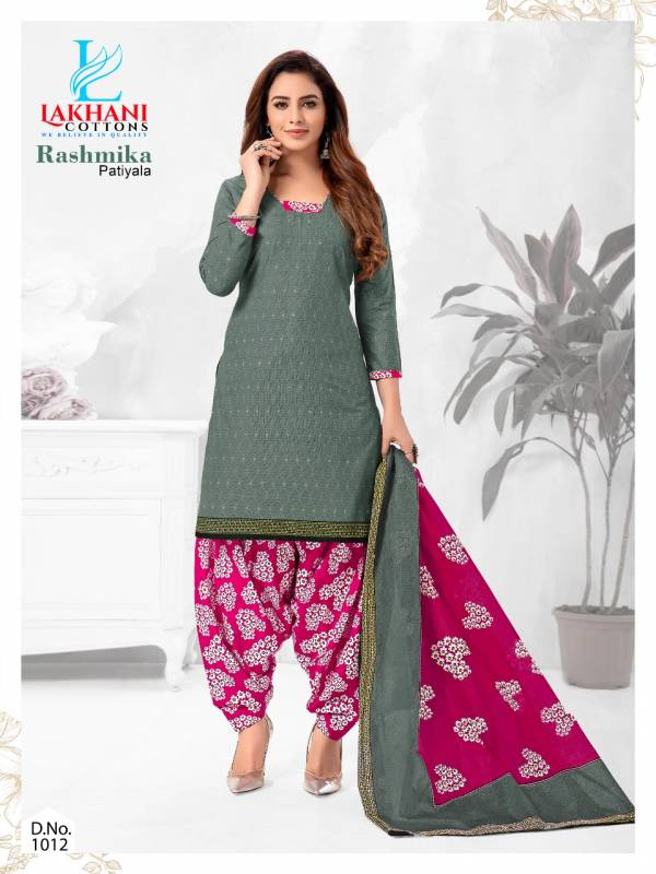 Lakhani Cotton Rashmina Patiyala Vol-1 Cotton Readymade Salwar Suit Collection