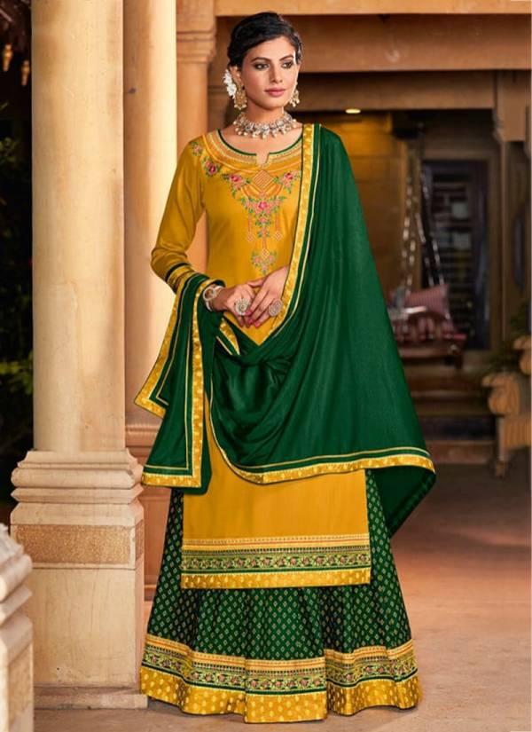 Triple AAA Kadambri Vol 5 Series 521-526 Jam Silk With Fancy Work New Designer Lehenga Suits Collection