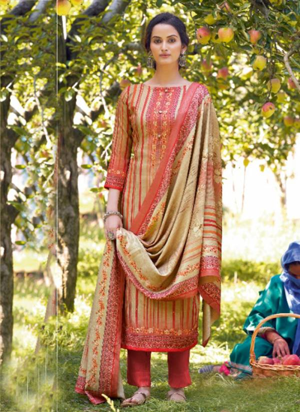 winter Series 6001-6008 Pashmina Digital Print With Stylish Hand Work Special Wither Season Salwar Suits Collection
