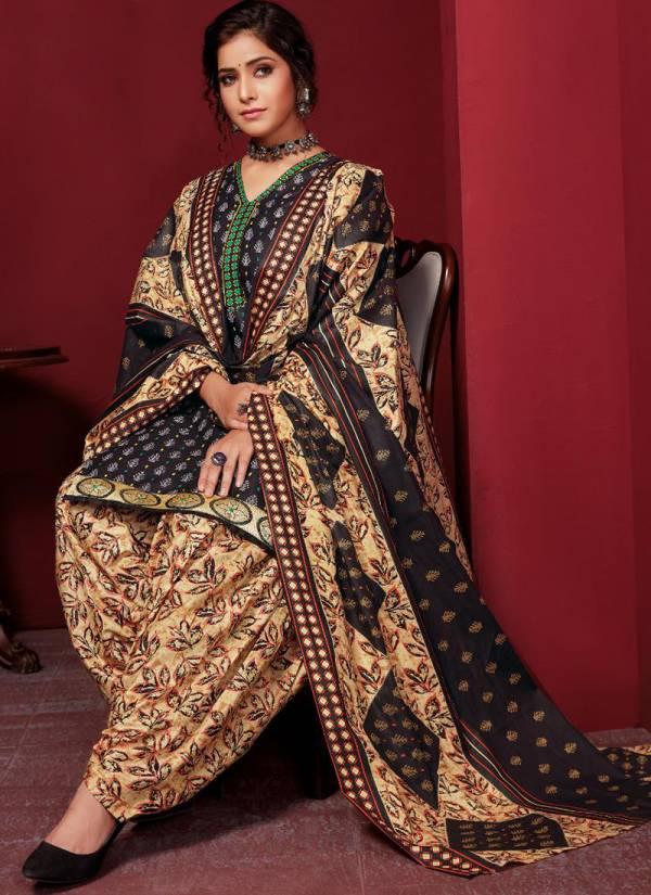 Nagmani Pamashri Vol 11 Pure Cotton With Fancy Neck Design Regular Wear Readymade Patiyala Suits Collection