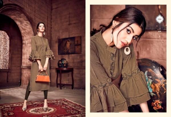 Sweety Fashion Firangi Rayon Fancy Regular Wear Kurtis Collection
