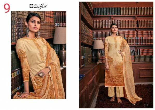 Zulfat Designer Iris Pure Jam Cotton Digital Print Work Casual Wear Designer Palazzo Suits Collection