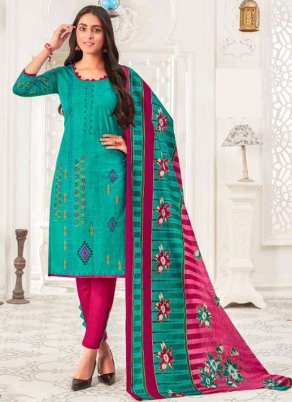 Js Priya Priyalaxmi Vol 6 Pure Cotton New Designer Elegance Look Readymade Casual Wear Salwar Suits Collection