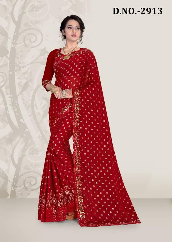 Nari Fashion Kavyanjali Rangoli Silk With Sequence Work Sarees Collection