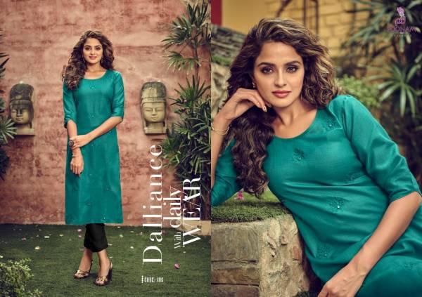 Poonam Designer Asiana Vol 4 Series 401-412 Cotton Slub With Fancy Embroidery & Mirror Work Kurti Collection