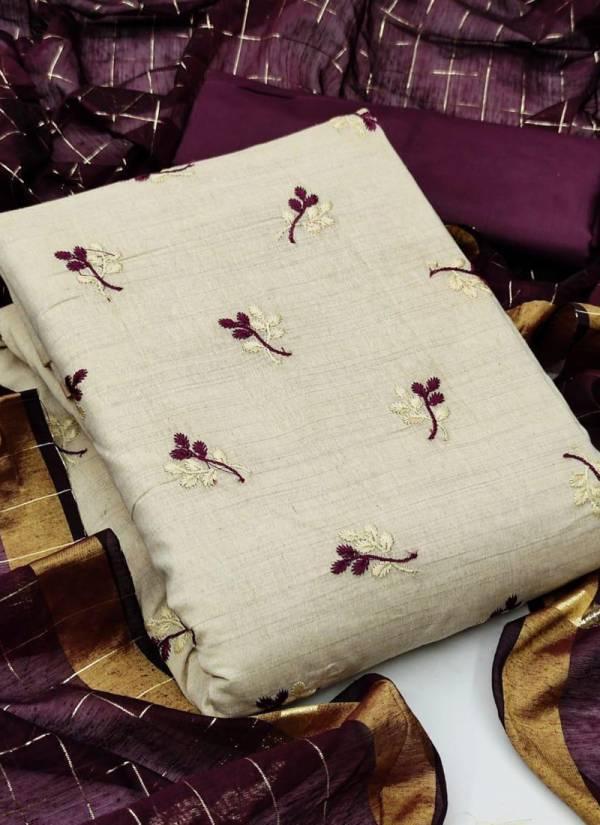 Shree Bherav Suits Khadi Cotton Printed Daily Wear Dress Material Collection