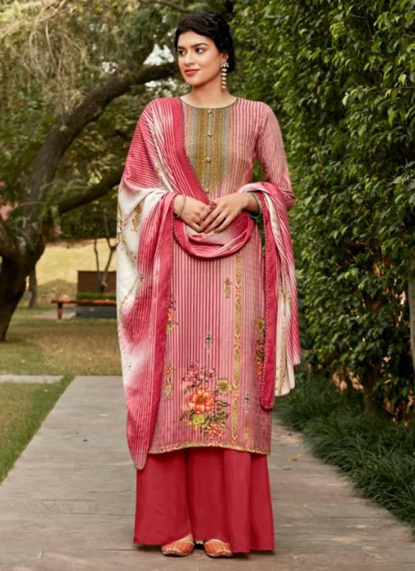 Sweety Fashion Malhari Series 1001M-1008M Pashmina With Swarovski Work Casual Wear Winter Suits Collection