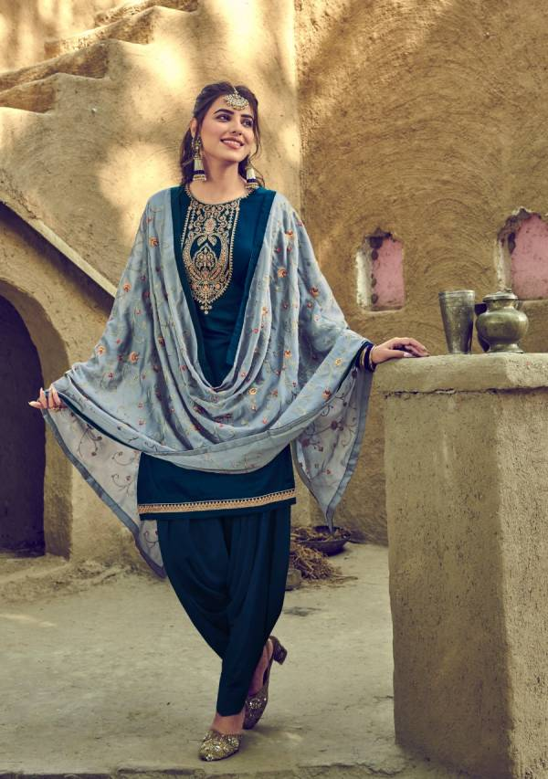 Zaveri Gajban Vol 1 Havey Jam Cotton Fancy Hand Work Wedding  Wear Designer Patiyala Suits Collection
