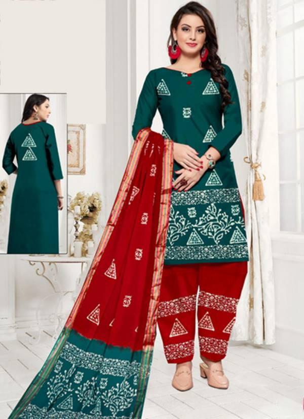 Js Priya Wax Batik Pure Cotton Batik Prints Latest New Readymade Salwar Suits Collection