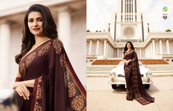 Nakshatra Fashion Studio Vol 5 Georgette Designer Printed Work Casual Wear Designer Sarees Collection