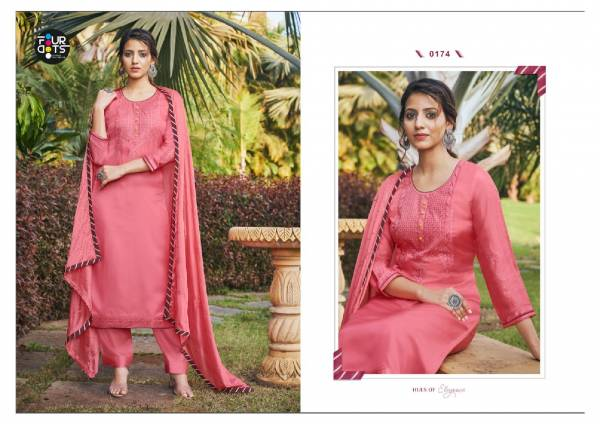 KVS Shubharambh Vol 3 Series 0171-0174 Modal Satin With Trendy Look Sequence Work Casual Wear Salwar Suits Collection