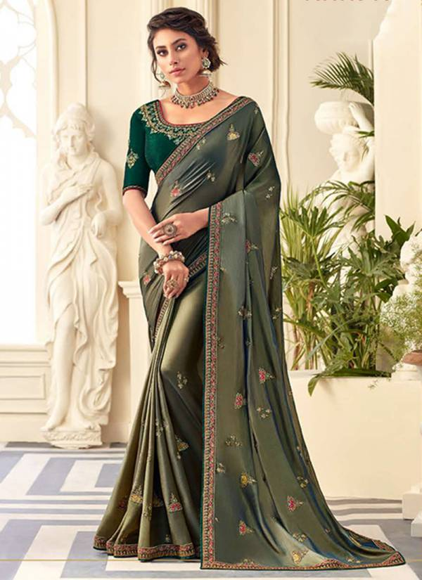 Kekee Impex Sneh Vol 10 Series VS80025-VS80033 Heavy Silk & Embroidery Work Exclusive Designer Sarees Collection