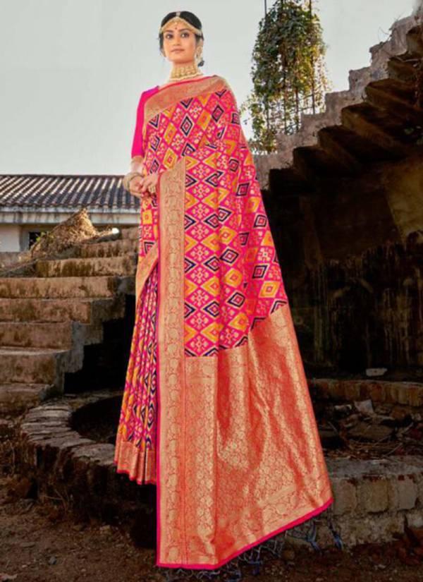 Shruti Parchhai Banarasi Silk Wedding Wear Sarees Collection