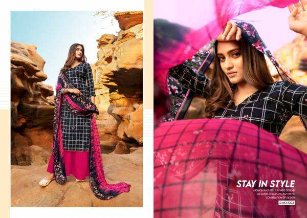 Sweety Fashion Rubby Rayon Print With Mirror Work Palazzo Suits Collection