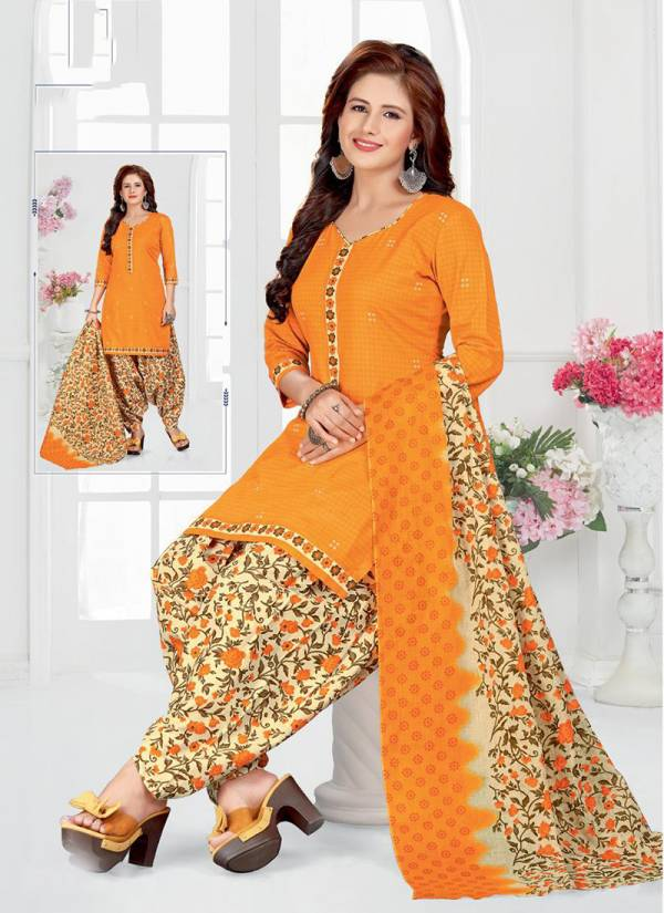 Miss World Choice Super Hit Vol 23 Series 2301-2310 Pure Cotton Exclusive Designer Daily Wear Printed Patiyala Suits Collection