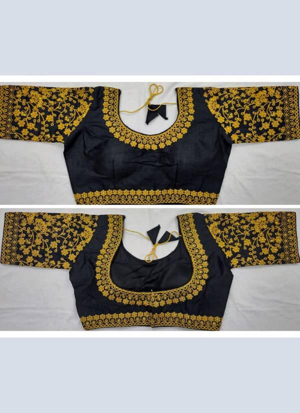 Ruhi Fashion Fantam Silk Zari Work Designer Blouse Collection