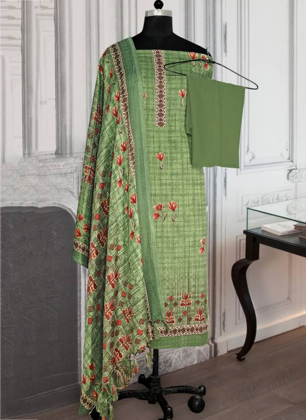 Bipson 193 Colours Series 193A-193D Pure Pashmina Printed Winter Special New Fancy Daily Wear Straight Suits Collection