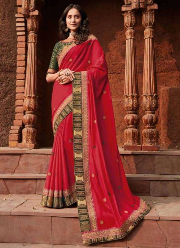 Vanya Vol 17 Series 2709-2716 Latest Designer Silk Festival Wear Sarees Collection