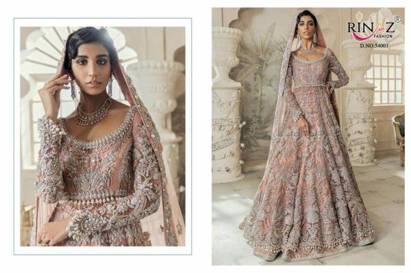 Rinaz Fashion Rim Zim Vol 5 Butterfly Net With Embroidery Hand Work Pakistani Suits Collection