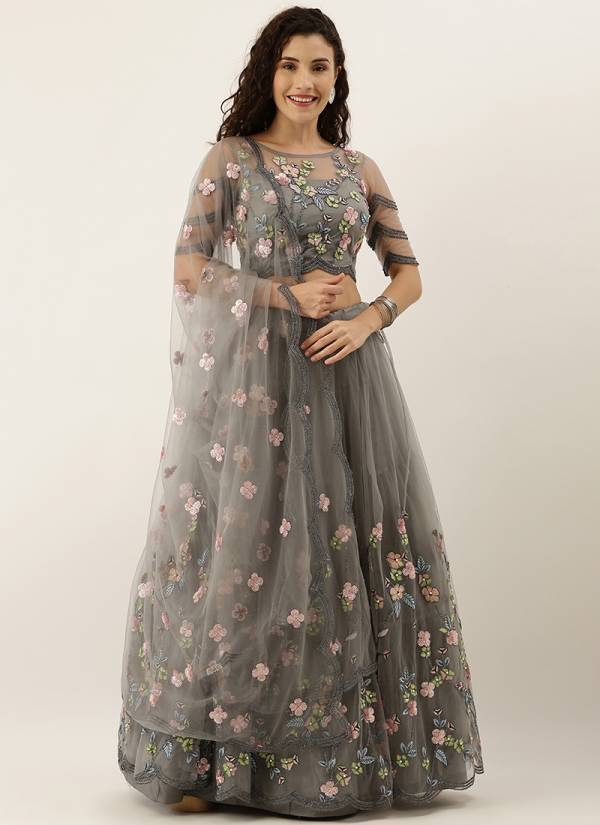 Kesari Exports Series 5008-5152 Satin Silk And Net With Heavty Embroidery Coading Stone Work Wedding Wear Lehenga Choli Collection