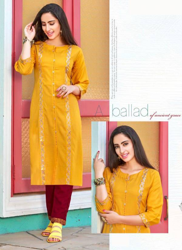 Tips & Tops Maisha Series 1001M-1006M Fancy Rayon Slub Sequence Work Party Wear Kurti With Bottom Collection