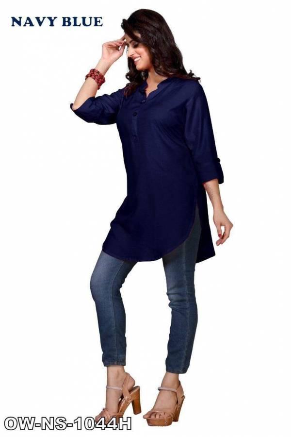 Rahul NX American Crape Casual Wear Designer Top Collection
