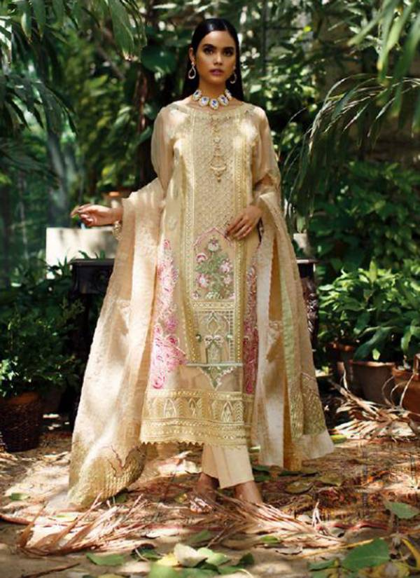 Serene Azalea Series 1101-1104 Faux Georgette With Heavy Embroidery Work Eid Special Pakistani Suits Collection