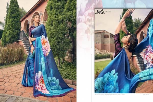 Bela Fashion Silky Vol 7 Satin Silk Digital Print Party Wear Sarees Collection