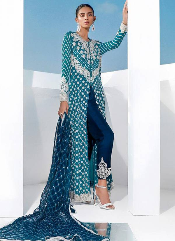 Rinaz Fashion Blockbaster Hits Vol 3 Series 1096-1100 Faux Georgette With Heavy Embroidery & Diamond Work Latest Designer Wedding Wear Pakistani Suits Collection