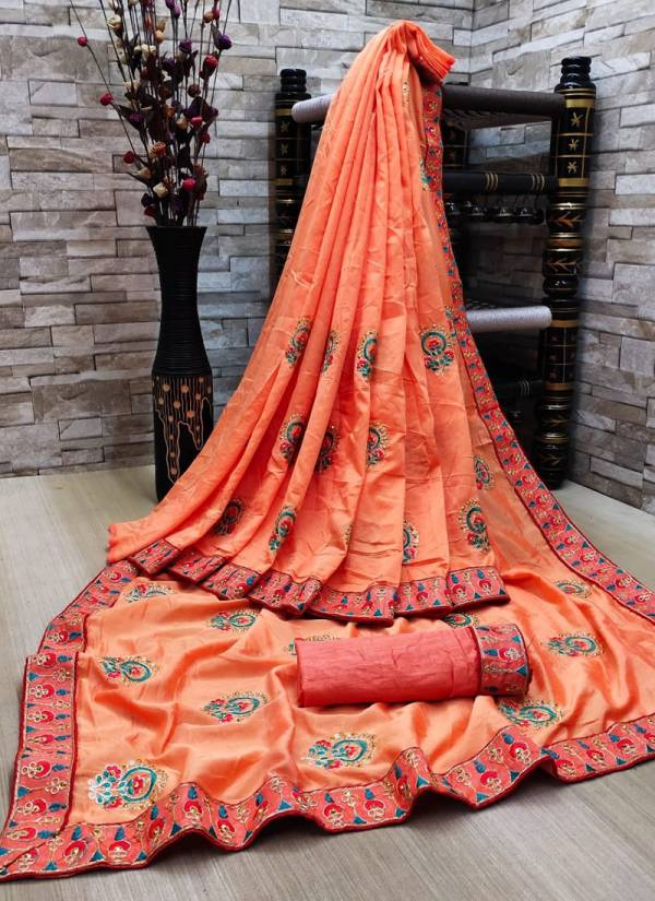 Ruhi Fashion Series ND-1 - ND-8 Vichitra Silk Two Tone Zari Work Latest Designer Festival Wear Sarees Collection