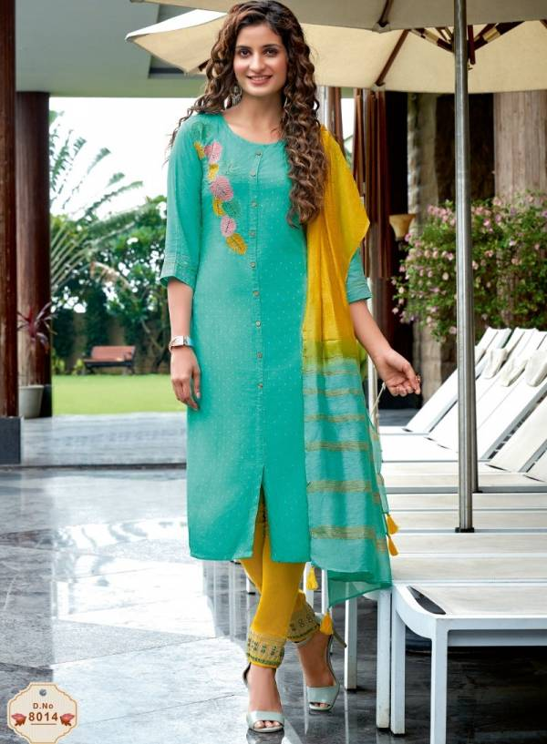 Mittoo Rangpreet Vol 3 Jacquard Viscose Butti Work Readymade Suits Collection