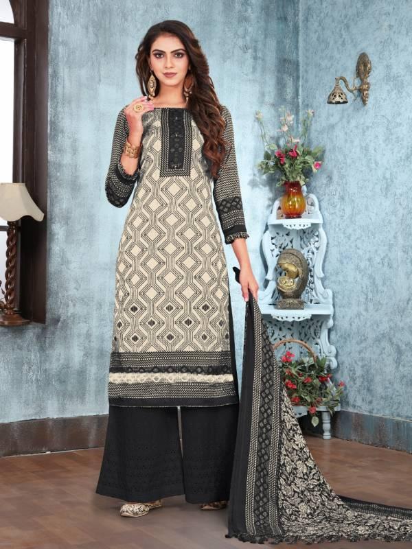 Bipson Season Series 1161A-1161D Pure Pashmina Print Latest Designer Winter Season Daily Wear Suits Collection