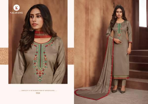 Kalarang Jessica Vol 3 Jam Cotton With Embroidery Work Casual Wear Salwar Suit Collection