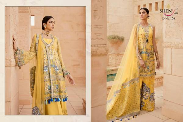 Shenyl Fab Hits Vol 3 Faux Georgette With Heavy Work Eid Special Pakistani Suits Collection
