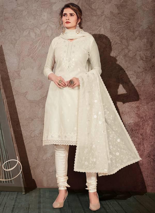 Gulnaaz Sreies 1001A-1008D Chanderi Ramzan Eid Special Latest Designer Salwar Suits Collection