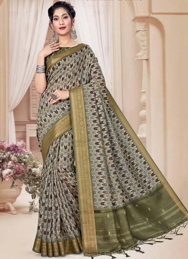 Nari Fashion Alfaaz Series 2781-2790 Art Silk Zari Rappier Border & Pallu Digital Print Designer Party Wear Sarees Collection