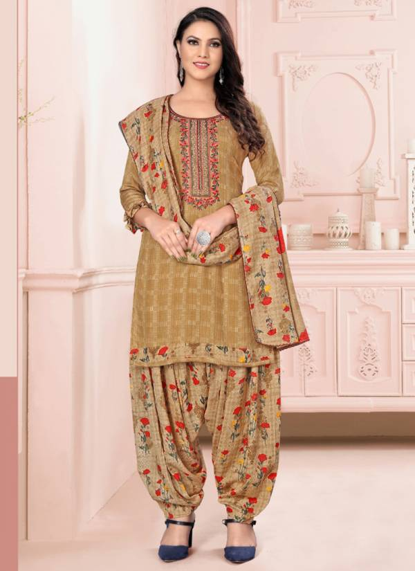 Maira Gulabi Series 1001G-1008G Pure Pashmina With Pure Viscose Embroidery Work Casual Wear Suits Collection