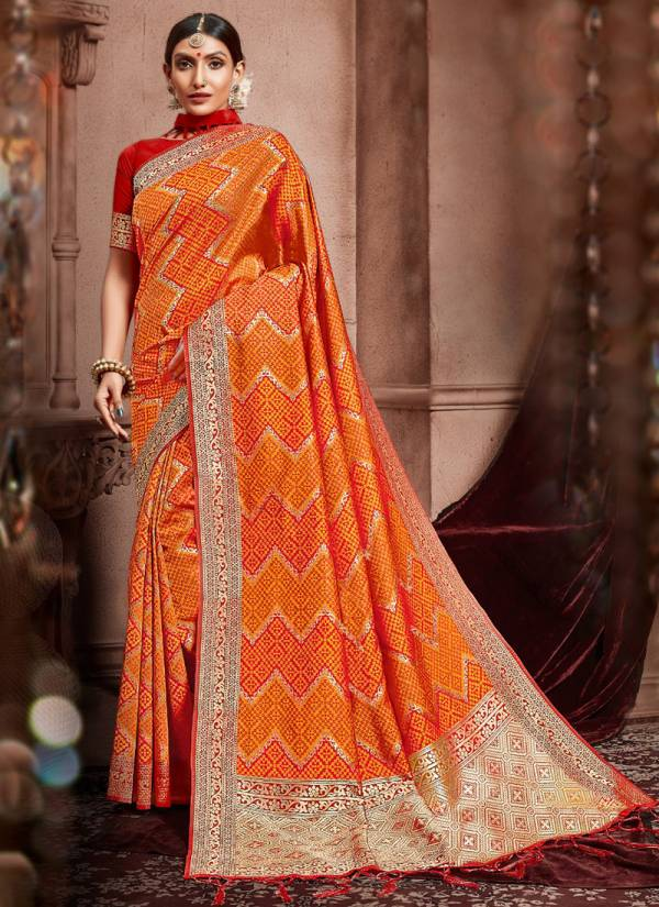 Vaamika Fashion Sudarshan Silk Series SUDARSHANSILK-1-SUDARSHANSILK-10 Art Silk Party Wear New Designer Sarees Collection For Women